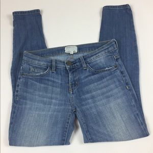 Current Elliot cropped skinny jeans size 26